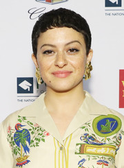 Alia Shawkat worked a cute pixie at the Point Honors Gala New York.