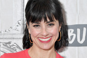 Constance Zimmer Half Up Half Down