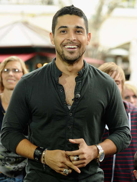 More Pics of Wilmer Valderrama Leather Bracelet (1 of 22) - Leather Bracelet Lookbook - StyleBistro