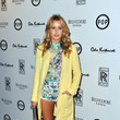 Caggie Dunlop Makes the Floral Trend Work For Her