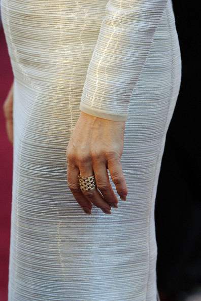 Celine Dion Statement Ring
