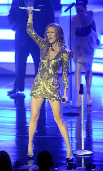 More Pics of Celine Dion Evening Dress (1 of 109) - Celine Dion Lookbook - StyleBistro