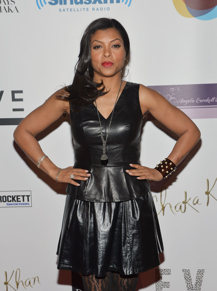 More Pics of Taraji P. Henson Red Lipstick (2 of 7) - Red Lipstick Lookbook - StyleBistro