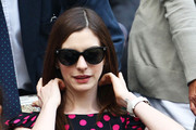 Anne Hathaway Gets Catty in Versace