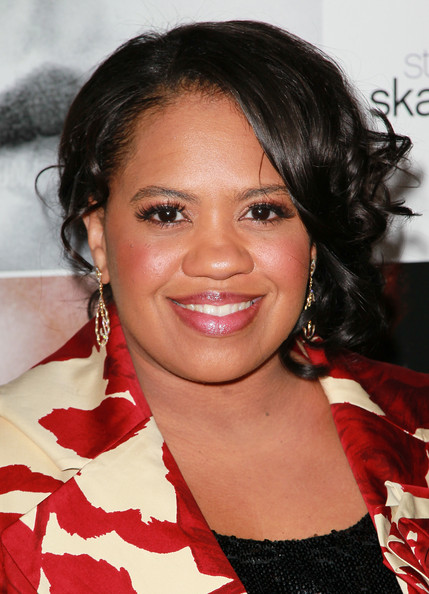 Chandra Wilson Pinned Up Ringlets