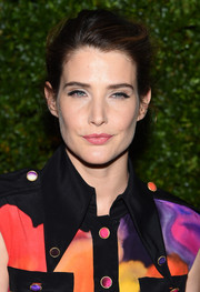 Cobie Smulders sported a simple yet elegant loose updo at the Tribeca Film Festival Chanel dinner.