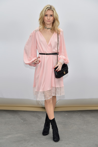 Lottie Moss at Chanel