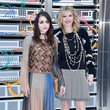 Frances Bean Cobain and Courtney Love at Chanel