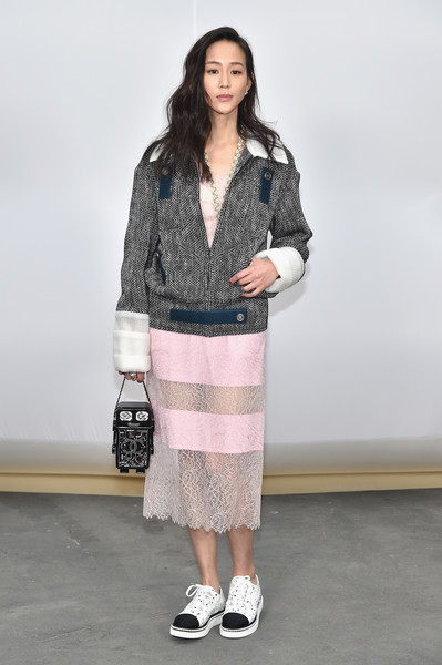 Janine Chang at Chanel