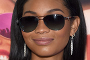 Chanel Iman Dangling Diamond Earrings