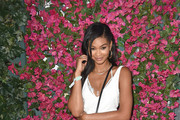 Chanel Iman Leather Shoulder Bag