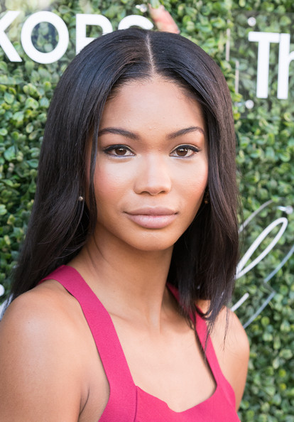 Chanel Iman Long Center Part