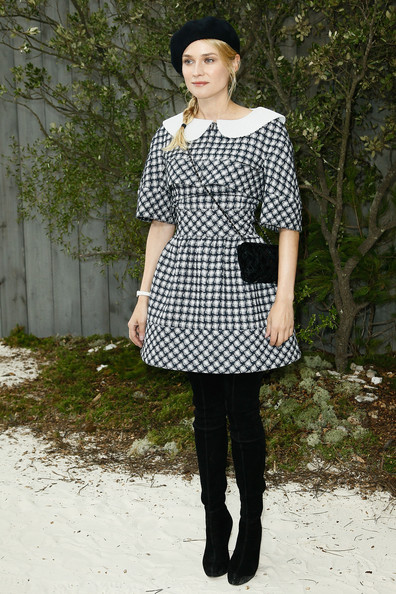Diane Kruger at the Chanel Spring/Summer 2013 Haute-Couture Show