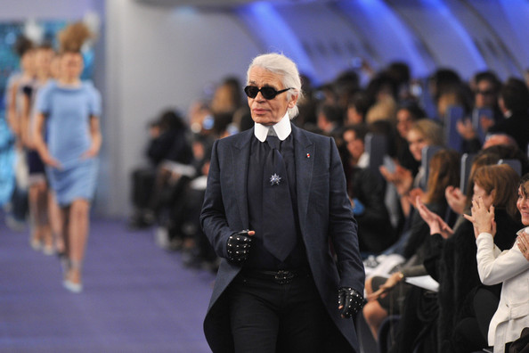 Karl+Lagerfeld in Chanel: Runway - Paris Fashion Week Haute Couture S/S 2012
