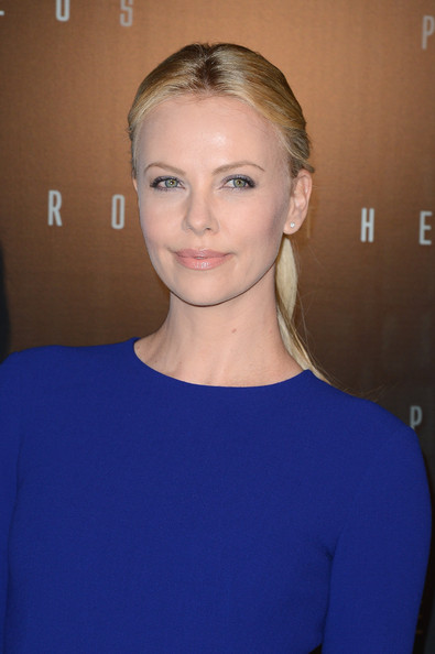 Charlize Theron attends the'Prometheus' Paris Premiere at Cinema Gaumont
