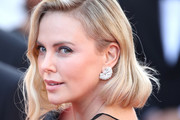 Charlize Theron Diamond Studs