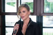 Charlize Theron Fitted Jacket