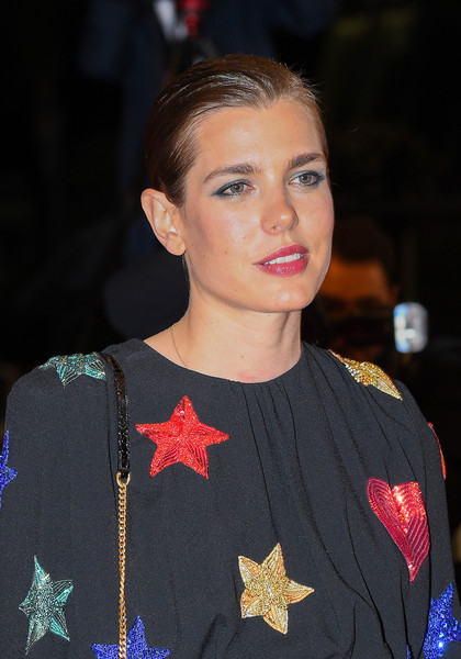 Charlotte Casiraghi Classic Bun [lux aeterna,hair,face,hairstyle,beauty,chin,fashion,lip,event,premiere,performance,charlotte casiraghi,screening,cannes,france,red carpet,the 72nd annual cannes film festival]