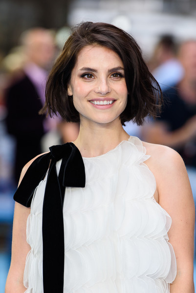 Charlotte Riley Bob [hair,hairstyle,shoulder,beauty,eyebrow,skin,lady,premiere,fashion,lip,red carpet arrivals,charlotte riley,england,london,swimming with men uk,premiere,swimming with men uk premiere,the curzon mayfair]