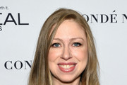 Chelsea Clinton Long Wavy Cut