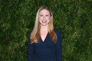 Chelsea Clinton Wrap Dress
