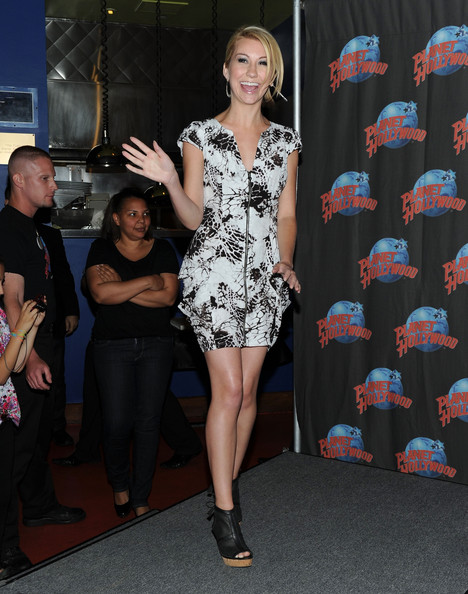 Chelsea Staub Ankle Boots [jonas l.a.,clothing,shoulder,fashion,dress,fashion model,footwear,leg,cocktail dress,thigh,joint,chelsea staub,new york city,planet hollywood times square,planet hollywood]