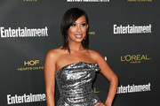 Cheryl Burke Strapless Dress