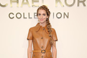 Chiara Ferragni Leather Dress