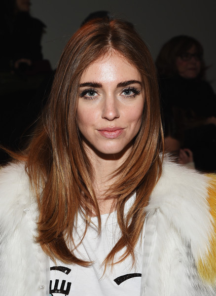 Chiara Ferragni Layered Cut []