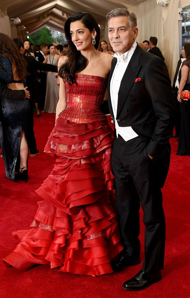 More Pics of Amal Clooney Strapless Dress (1 of 17) - Amal