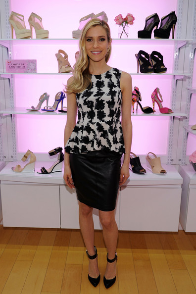 More Pics of Kristin Cavallari Knee Length Skirt (5 of 13) - Kristin Cavallari Lookbook - StyleBistro