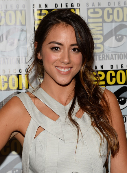 Chloe Bennet Long Braided Hairstyle
