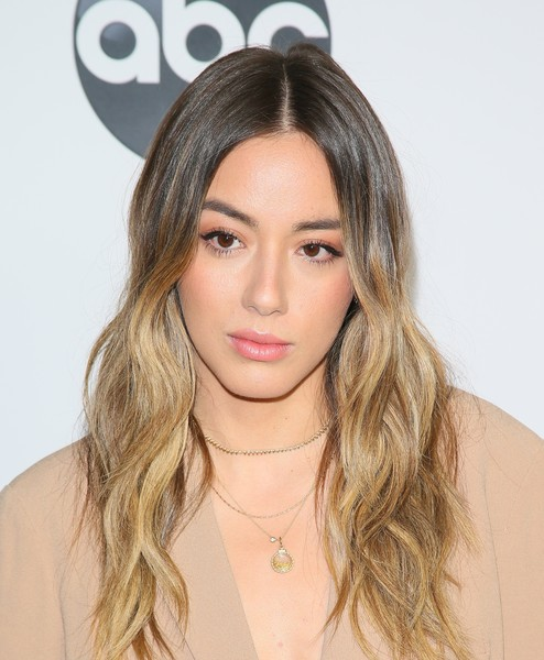 Chloe Bennet Ombre Hair [abc television hosts tca winter press tour 2019 - arrivals,hair,face,hairstyle,blond,eyebrow,lip,long hair,hair coloring,brown hair,beauty,chloe bennet,pasadena,california,disney]