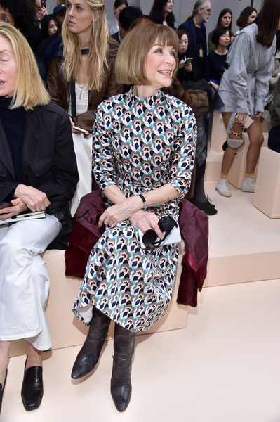 Anna Wintour at Chloe