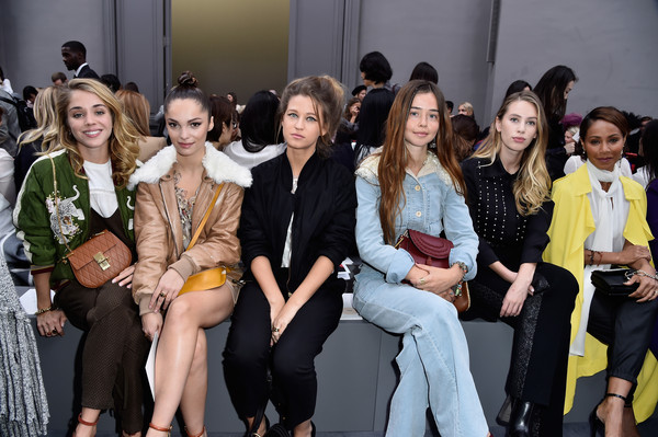 The Best Front Row Fashion at Paris Fashion Week Spring-Summer 2016