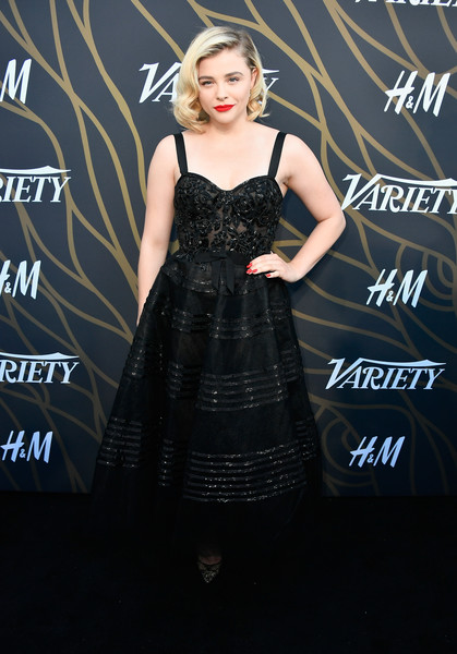 Chloe Grace Moretz Corset Dress