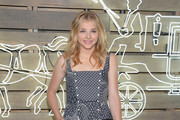 Chloe Grace Moretz Leather Clutch