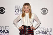 Chloe Grace Moretz Mini Skirt