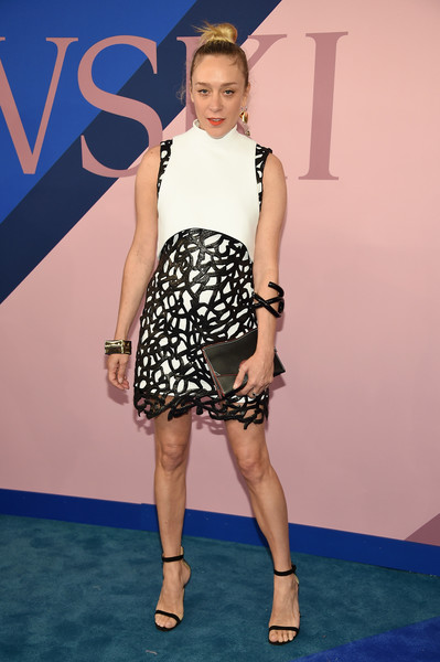Chloe Sevigny Strappy Sandals [fashion model,catwalk,flooring,fashion,fashion show,runway,carpet,leg,shoe,fashion design,arrivals,chloe sevigny,hammerstein ballroom,new york city,cfda fashion awards]