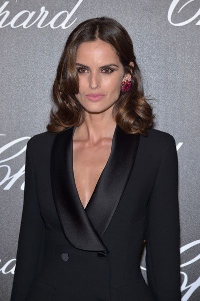 More Pics of Izabel Goulart Gemstone Studs (1 of 11) - Gemstone Studs Lookbook - StyleBistro [chopard trophy photocall,hair,suit,hairstyle,clothing,formal wear,tuxedo,blond,long hair,dress,brown hair,izabel goulart,photocall,chopard trophy,hotel martinez,cannes film festival]
