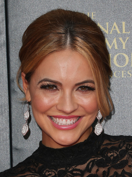 Chrishell Stause Retro Updo []