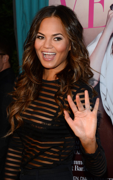 More Pics of Chrissy Teigen Smoky Eyes (1 of 59) - Chrissy Teigen Lookbook - StyleBistro