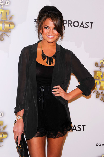 Chrissy Teigen Bronze Statement Necklace