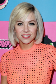 Carly Rae Jepsen went for a classic bob when she attended the Christian Cowan x The Powerpuff Girls show.