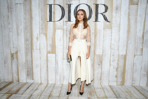 More Pics of Olivia Cooke Full Skirt (1 of 3) - Dresses & Skirts Lookbook - StyleBistro