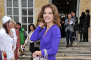 Natalia Vodianova attends the Christian Dior Ready-To-Wear Fall/Winter 2012 show as part of Paris Fashion Week at Musee Rodin on March 2, 2012 in Paris, France.