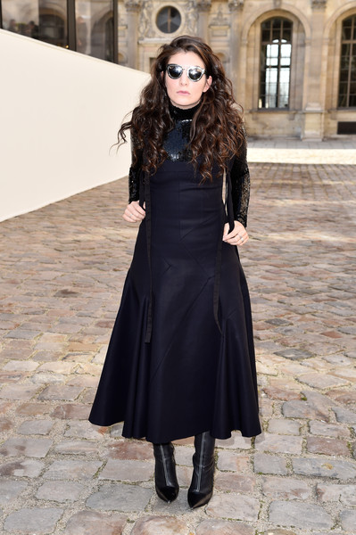 Lorde at Christian Dior