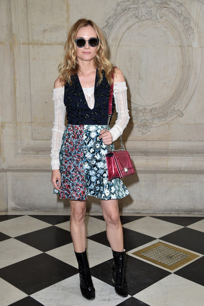 Diane Kruger at Christian Dior