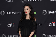 Christian Serratos Platform Sandals