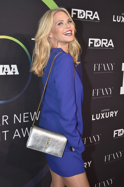 Christie Brinkley Metallic Shoulder Bag